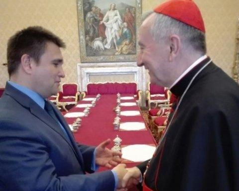 Стало відомо, про що Клімкін розмовляв у Ватикані