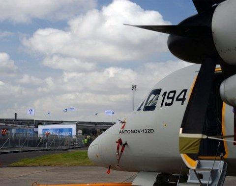 Премьера украинского Ан-132D на масштабном авиашоу во Франции, фото и видео