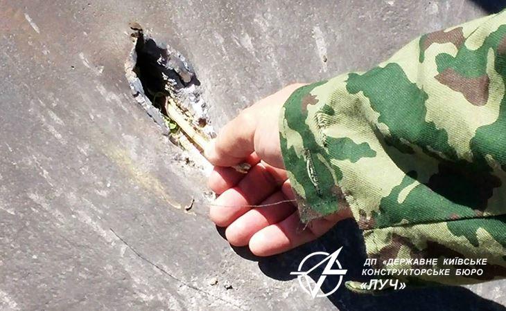 Украинские создатели испытали самый новый противотанковый ракетный комплекс Корсар