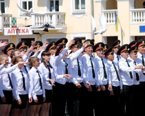 Чернігівські випускники Пенітенціарної Академії визвали хвилю негативу пафосним святкуванням, фото та відео