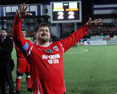 В России в честь Кадырова переименовали футбольный клуб Премьер-Лиги