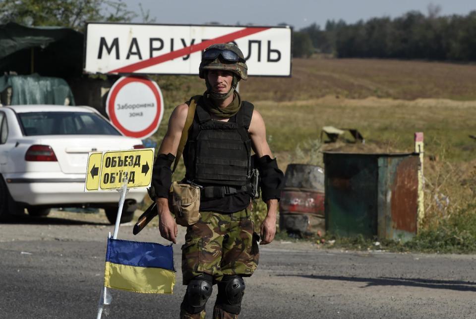 Сегодня украинские войска освободили Мариуполь от пророссийских оккупантов
