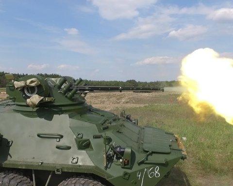 """Нацгвардія отримала партію БТР з бойовим модулем """"Штурм-М"""" та Ан-26 на озброєння"""