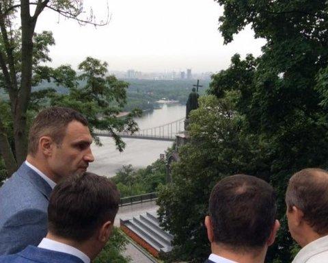 Кличко розповів про долю Володимирської гірки в Києві