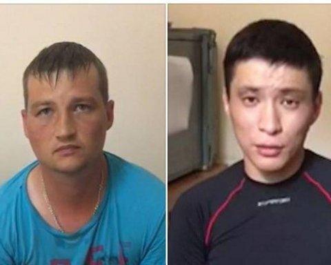 Двоє російських військовослужбовців