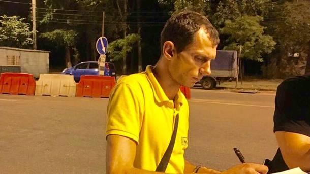 У Києві обкурений чоловік розвозив піцу