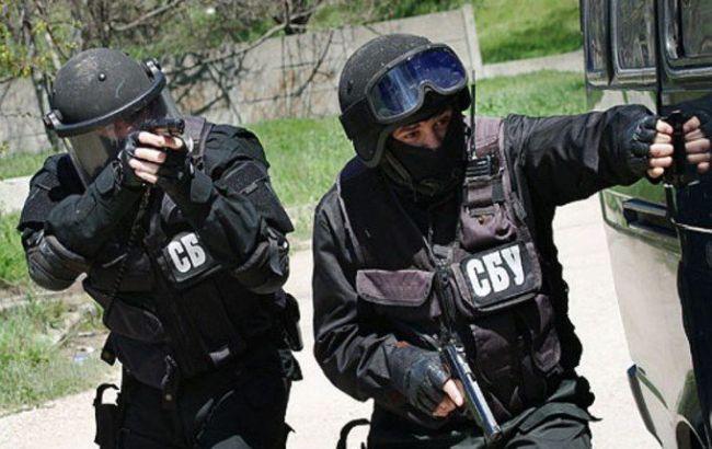 У центрі Запоріжжя СБУ затримала небезпечне злочинне угрупування
