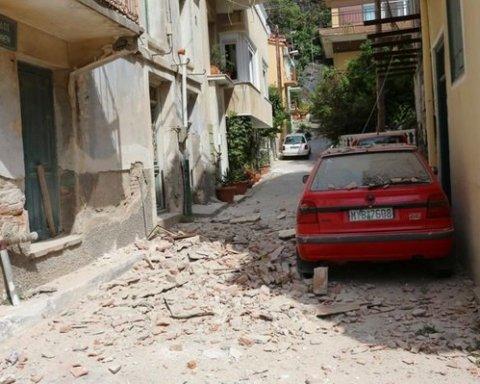 Землетрус в Егейському морі: з'явилася інформація про потерпілих і руйнування