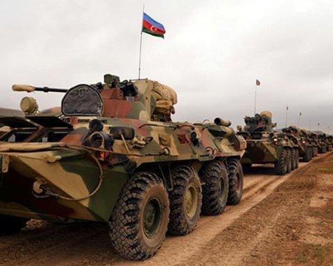Азербайджан нанес удар по армии Армении