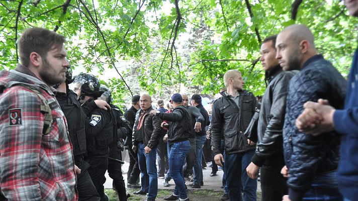 Визначено організаторів бійки на 9 травня в Дніпрі