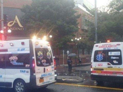 Взрыв в торговом центре в Колумбии, есть жертвы