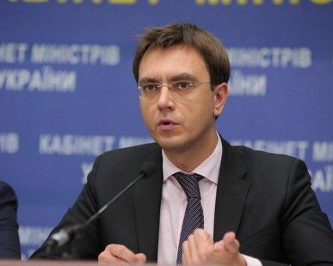 Міністр інфраструктури Володимир Омелян