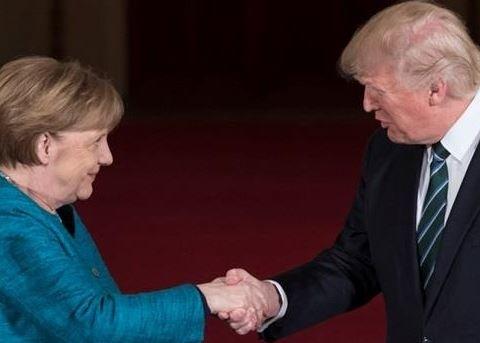 Трамп і Меркель обговорили Україну: розкриті деталі