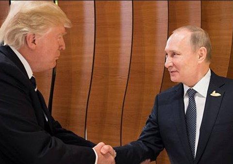Зустріч Трампа і Путіна: оприлюднені перші фото і відео