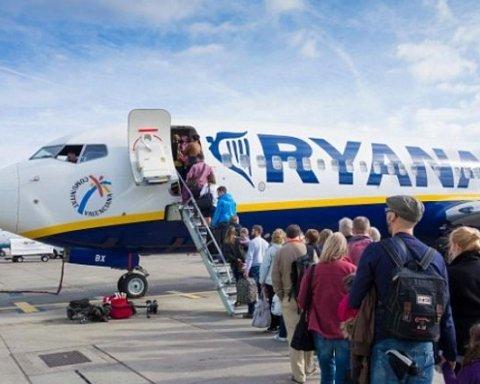 В Ryanair рассказали, что делать украинским клиентам с купленными билетами
