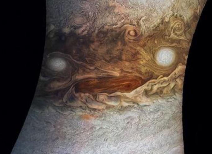 Житель америки заставил Юпитер показать «истинное лицо»
