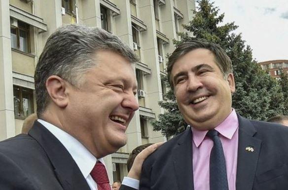 """""""Шокувало і вразило"""": Порошенко колоритно прокоментував ситуацію з Саакашвілі"""