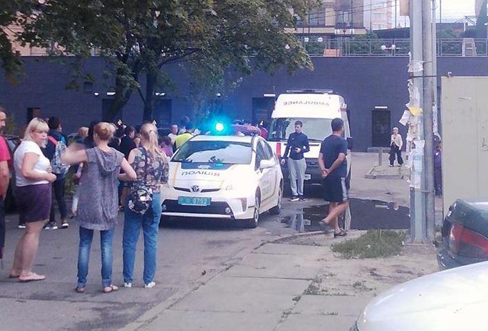 Три человека пострадали вмассовой потасовке вКиеве