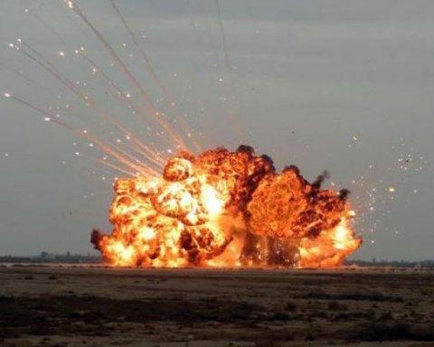 Мощный взрыв в Китае: много пострадавших