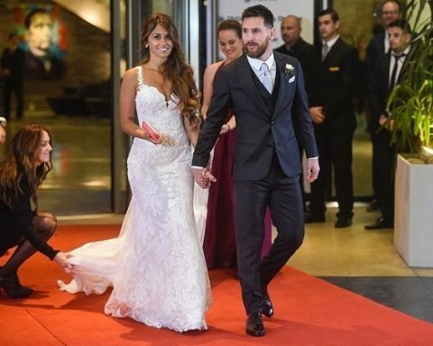 Ліонель Мессі одружився