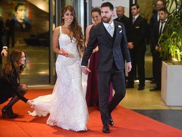 Ліонель Мессі одружився, опубліковано відео