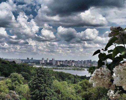 Температура воздуха в июне в Киеве была выше климатической нормы — метеорологи