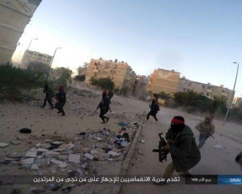 боевики ИГИЛ нападение