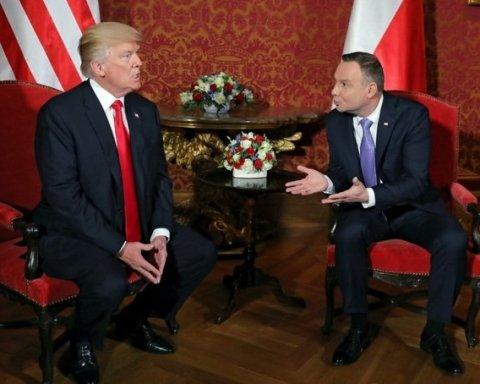 Трамп і Дуда обговорили у Варшаві Україну