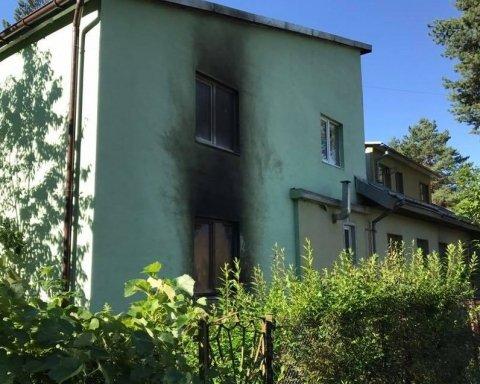 підпалили жіночий монастир