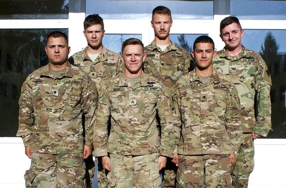 Военных США наградили за спасение жителей Львова