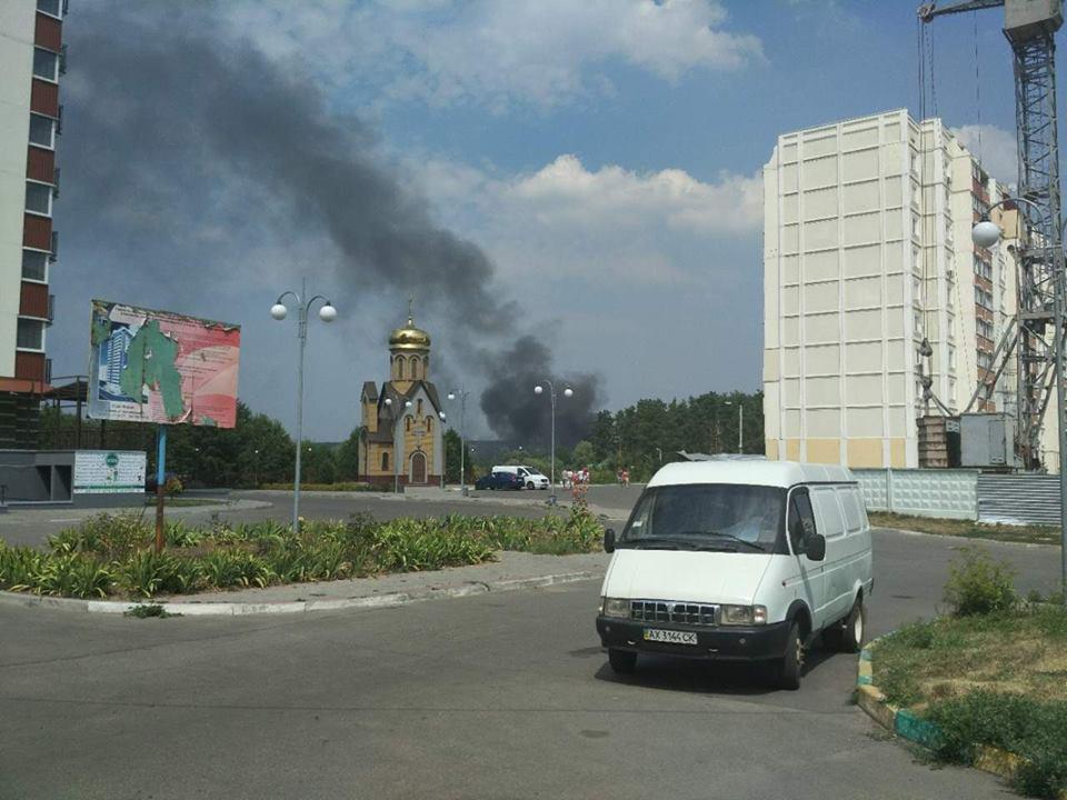 20264867 1553743294646421 5747380498565865754 n ВХарьковской области произошел пожар наскладе автозапчастей, есть пострадавшие