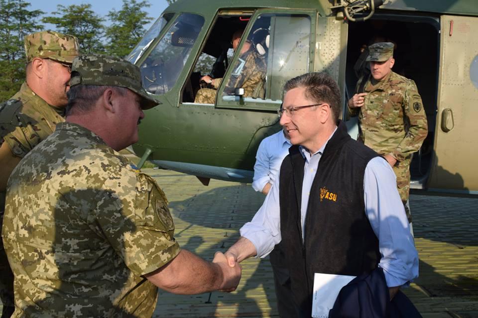 Спецпредставник США Курт Волкер відвідає схід України— Держдеп