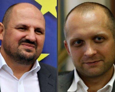 депутатb Поляков та Розенблат