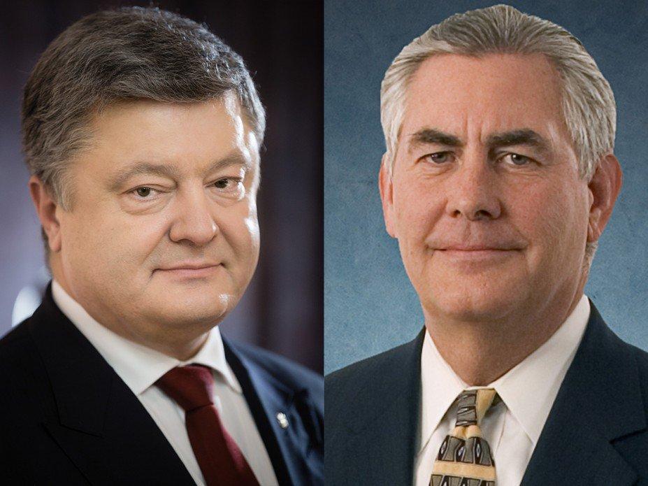 Порошенко анонсував візити до України поважних гостей з США