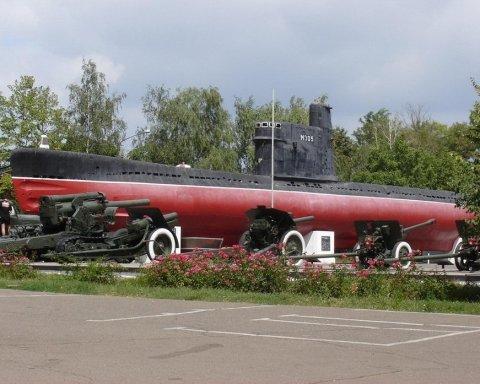 Юные одесситы пытались разобрать на металл подводную лодку