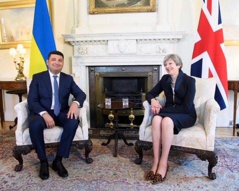 премьер-министры Украины и Великобритании