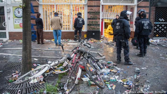 Поліція Гамбурга підрахувала кількість поранених та затриманих під час G20
