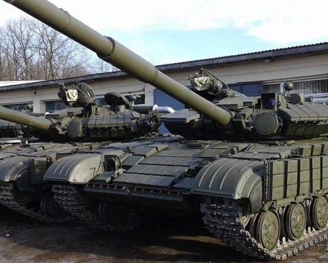 Масштабну схованку бойовиків із танками викрили на Донбасі