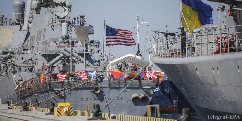 США отправили в Украину уникальный военный корабль