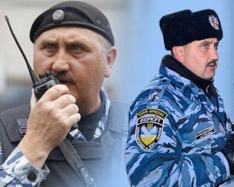 Сергей Кусюк Беркут Киев