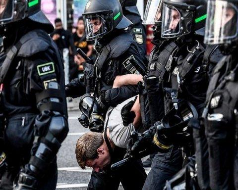 арештовані в Гамбурзі