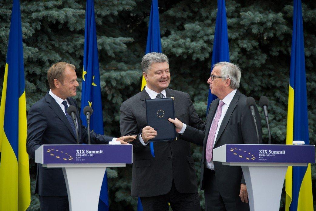 Туск, Юнкер иМогерини приедут встолицу Украинского государства насаммит Украина-ЕС