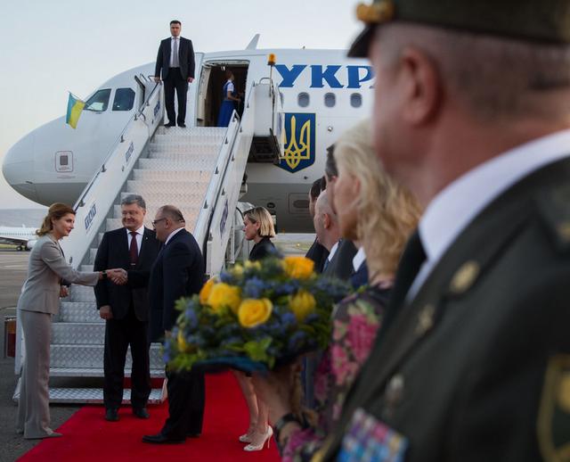 Порошенко прибув з візитом доГрузії: заплановане підписання угод