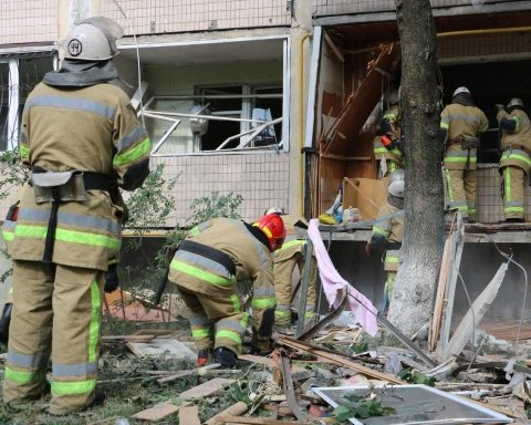 У Кличко считают количество квартир, необходимых пострадавшим от взрыва в Киеве