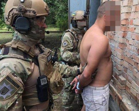 В Днепре спецназовцы задержали убийцу с газовым ключом, есть фото