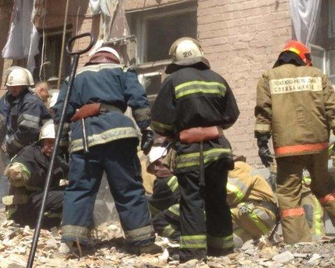 Взрыв дома в Киеве: детали и фото с места трагедии