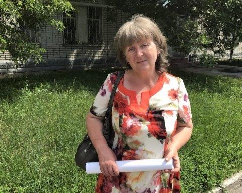 мать пленного росийского ефрейтора Виктора Агеева
