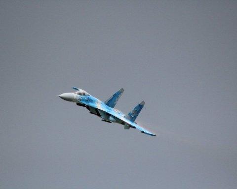 У Росії розбився військовий літак: перші фото з місця подій