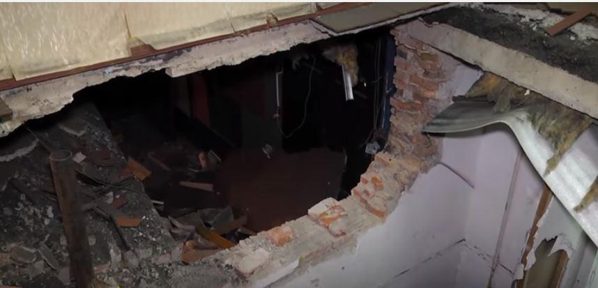 В Одесі завалився гуртожиток зі сплячими студентами: відео з місця події