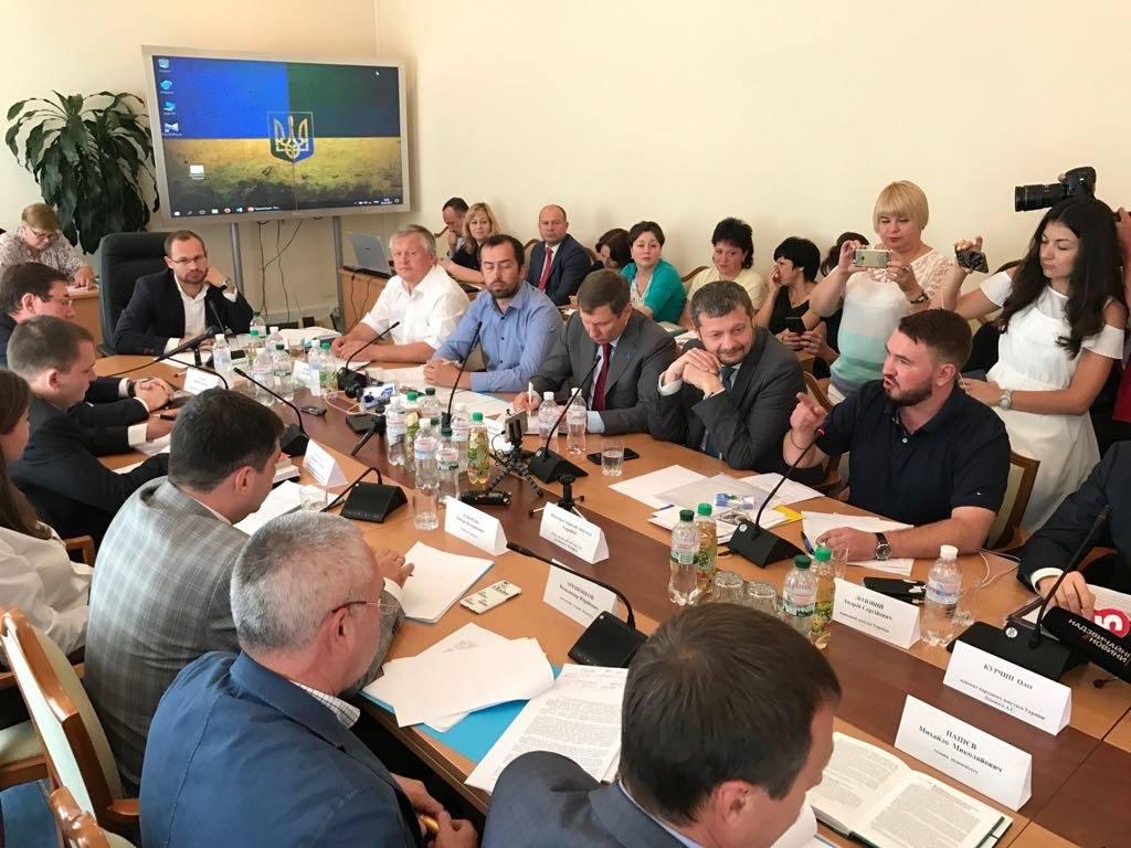 Комітет Ради почав розглядати зняття недоторканності зЛозового